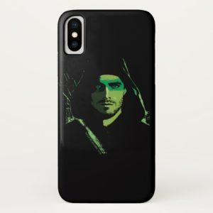 Arrow   Green Arrow Green Stylized Cutout Case-Mate iPhone Case