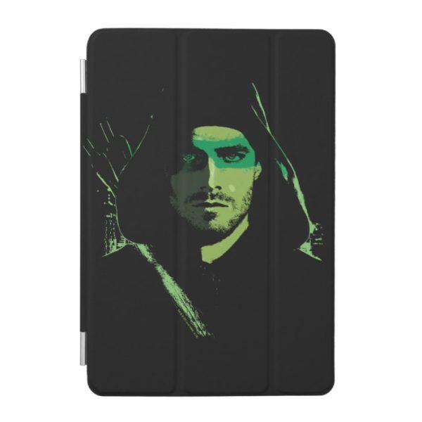 Arrow | Green Arrow Green Stylized Cutout iPad Mini Cover