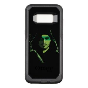 Arrow | Green Arrow Green Stylized Cutout OtterBox Commuter Samsung Galaxy S8 Case