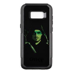 Arrow | Green Arrow Green Stylized Cutout OtterBox Commuter Samsung Galaxy S8+ Case