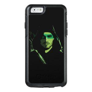 Arrow | Green Arrow Green Stylized Cutout OtterBox iPhone Case