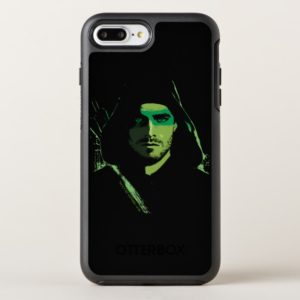 Arrow | Green Arrow Green Stylized Cutout OtterBox iPhone Case