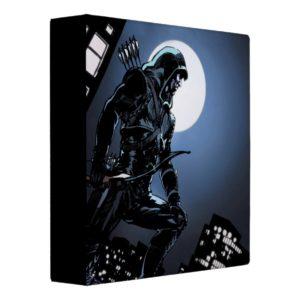 Arrow   Green Arrow In Moonlight 3 Ring Binder
