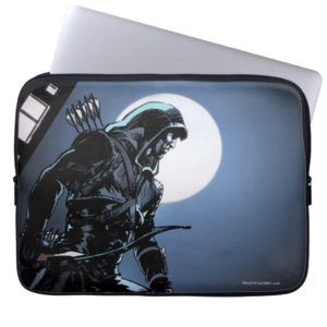 Arrow | Green Arrow In Moonlight Computer Sleeve