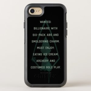 Arrow | Green Arrow Parody Wanted Post OtterBox iPhone Case
