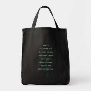 Arrow | Green Arrow Parody Wanted Post Tote Bag