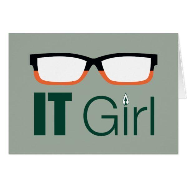 Arrow   IT Girl Glasses Graphic