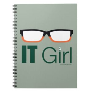 Arrow | IT Girl Glasses Graphic Notebook