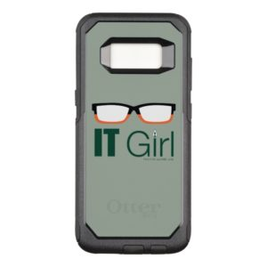 Arrow | IT Girl Glasses Graphic OtterBox Commuter Samsung Galaxy S8 Case