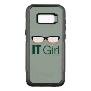 Arrow | IT Girl Glasses Graphic OtterBox Commuter Samsung Galaxy S8+ Case