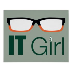 Arrow | IT Girl Glasses Graphic Poster