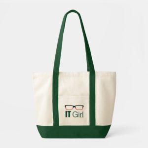 Arrow | IT Girl Glasses Graphic Tote Bag