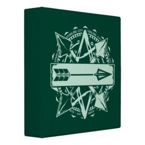 Arrow   Starling City Arrow Badge 3 Ring Binder