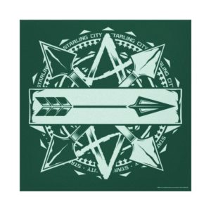 Arrow | Starling City Arrow Badge Canvas Print
