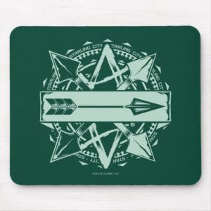Arrow | Starling City Arrow Badge Mouse Pad