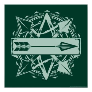Arrow   Starling City Arrow Badge Poster