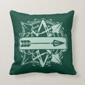Arrow | Starling City Arrow Badge Throw Pillow