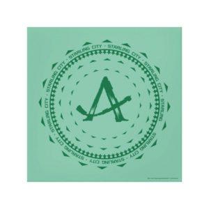 Arrow | Starling City Arrow Logo Canvas Print