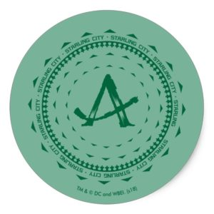Arrow | Starling City Arrow Logo Classic Round Sticker