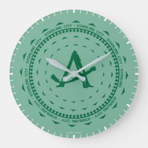 Arrow | Starling City Arrow Logo Large Clock