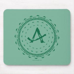 Arrow | Starling City Arrow Logo Mouse Pad