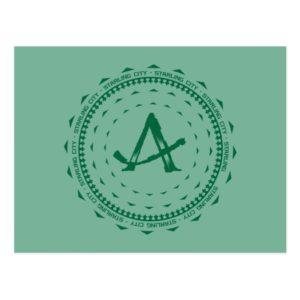 Arrow | Starling City Arrow Logo Postcard