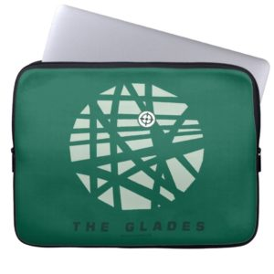 Arrow | The Glades City Map Computer Sleeve