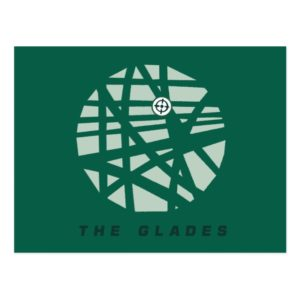 Arrow | The Glades City Map Postcard