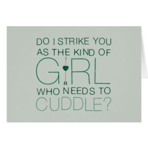 Arrow | The Kind Of Girl Who Needs To Cuddle?