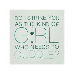 Arrow | The Kind Of Girl Who Needs To Cuddle? Canvas Print