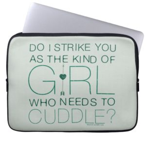 Arrow | The Kind Of Girl Who Needs To Cuddle? Computer Sleeve