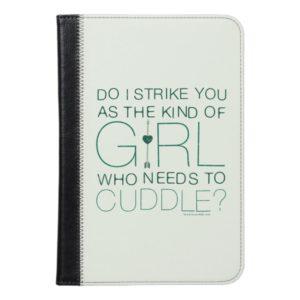 Arrow | The Kind Of Girl Who Needs To Cuddle? iPad Mini Case