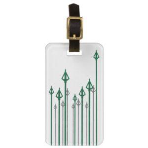 Arrow | Vertical Arrows Graphic Bag Tag