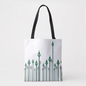 Arrow | Vertical Arrows Graphic Tote Bag