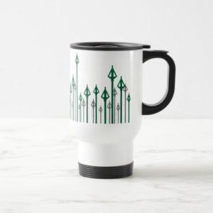 Arrow | Vertical Arrows Graphic Travel Mug