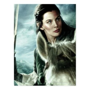ARWEN™ in Snow and Sword Postcard