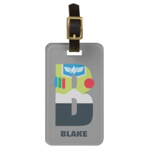 B is for Buzz | Add Your Name Bag Tag