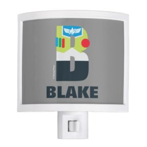 B is for Buzz | Add Your Name Night Light