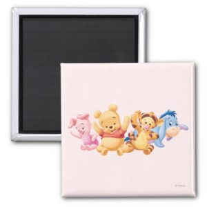 Baby Winnie the Pooh & Friends Magnet