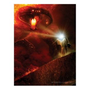 Balrog Versus GANDALF™ Postcard