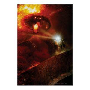 Balrog Versus GANDALF™ Poster