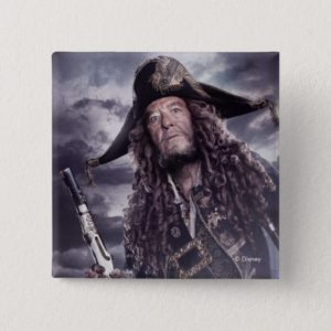 Barbossa - Command Respect Pinback Button