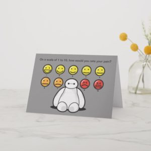 Baymax Emojicons | Get Well Card