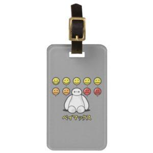 Baymax Emojicons Luggage Tag