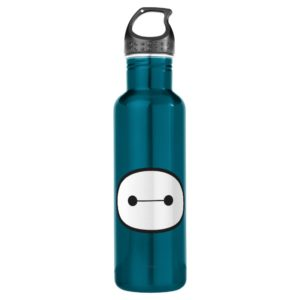 Baymax Face Outline Stainless Steel Water Bottle
