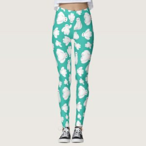 Baymax Green Classic Pattern Leggings