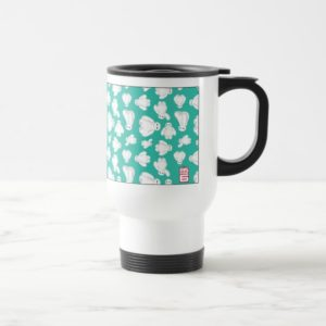 Baymax Green Classic Pattern Travel Mug