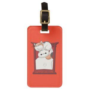 Baymax & Mochi | Supportive Type Bag Tag