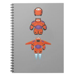 Baymax Orange Super Suit Notebook