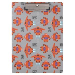 Baymax Orange Supersuit Pattern Clipboard